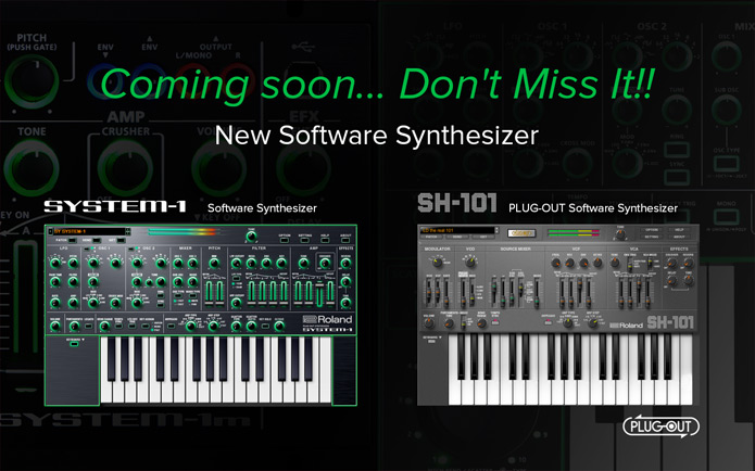 Roland AIRA - System 1 Software Synthesizer